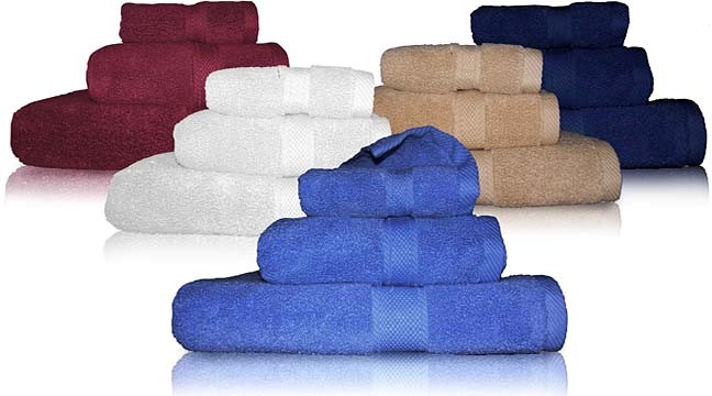 Set of towels - As a Gift for Griha Pravesh in India Good Option