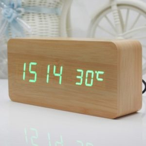 House Warming Gift Ideas - Wooden Table Clock