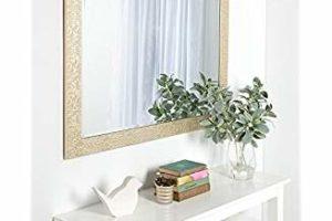Silver Mirror Frame - Griha Pravesh Gift Idea