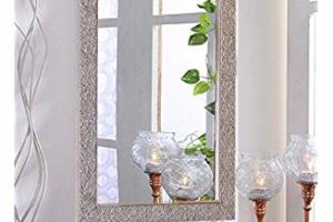 Silver Mirror Frame - House Warming Gift Idea